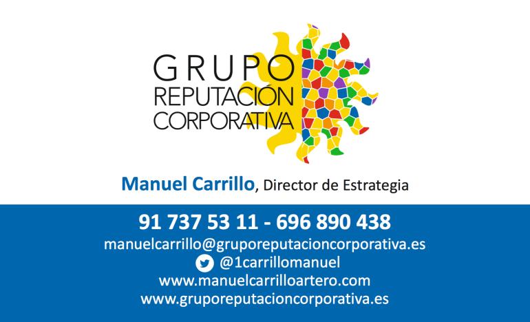 Datos contacto Manuel Carrillo