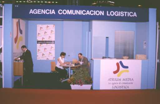 Stand de ATRIUM Media en SIL Barcelona 2001