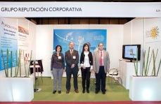 Stand de Grupo Reputación Corporativa en Feria Madrid