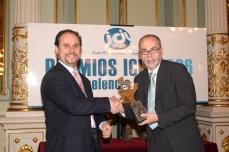 Manuel Carrillo en Gala Premios ICIL