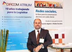 Manuel Carrillo Stand Grupo Reputación Corporativa