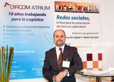Manuel Carrillo Stand Grupo Reputación Corporativa