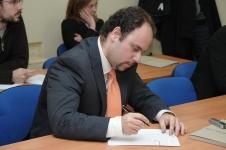 Manuel Carrillo en Rueda de Prensa
