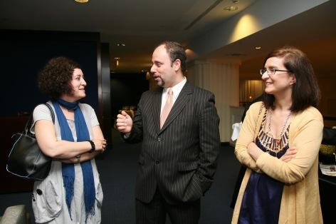 Manuel Carrillo y Clara Fernández en Evento Cliente