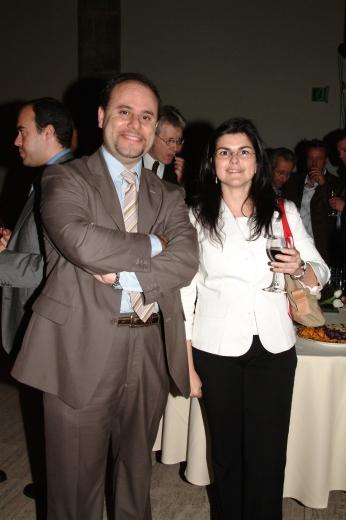 Manuel Carrillo con Sonia Pinto