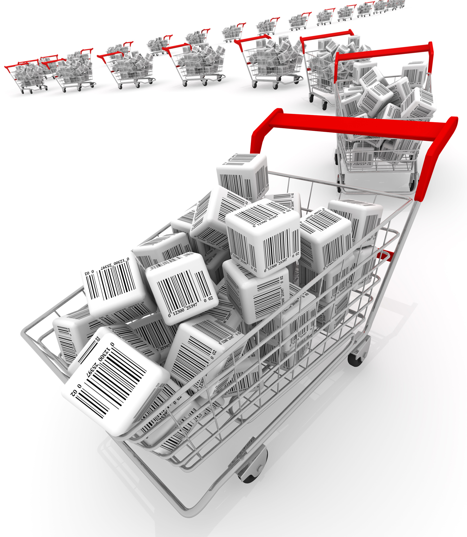 Online Shopping Carts With Design
