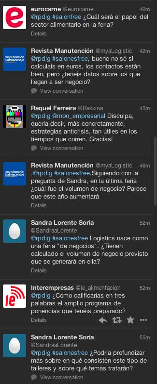 Lorena Albella Rueda de Prensa Twitter Digital