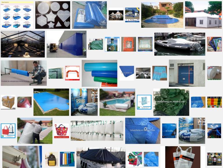 fabricantes grandes lonas de plastico
