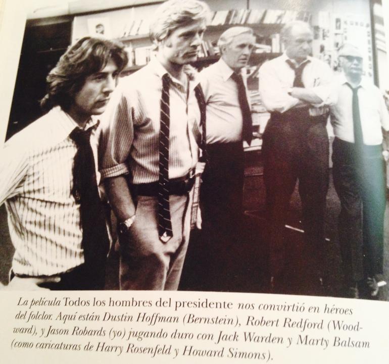 Fotografía todos los hombres del presidente