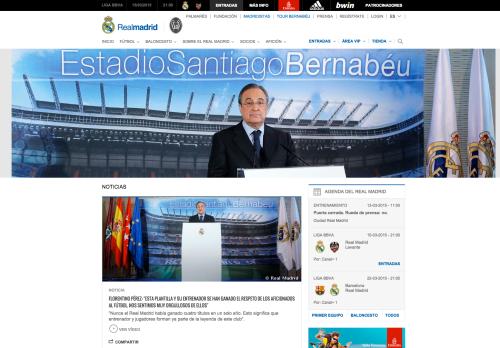 Foto Rueda de Prensa Florentino Pérez