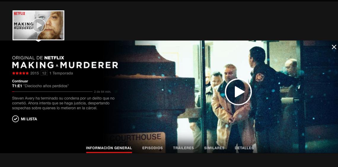 Análisis documental making a murderer manuel carrillo