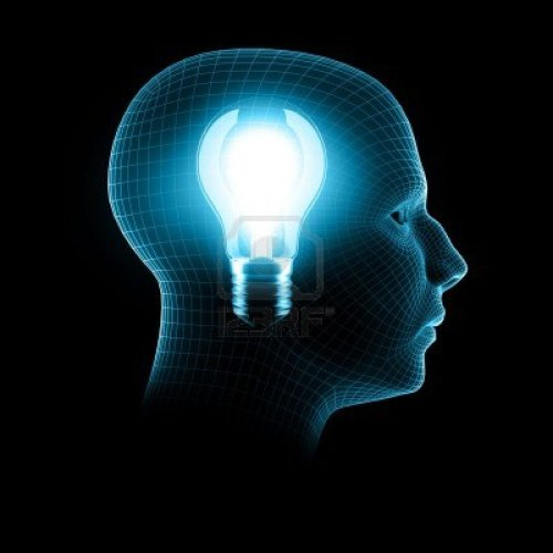 4264528-una-idea-brillante-3d-hacer-bombilla-cabeza-dentro-de-alambre